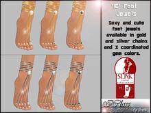 ! *IC* Slink High Foot Jewels  Monochromes