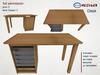 *M n B*  Desk (meshbox)