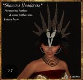 ..Yama's Ideas..Shamans Headdress