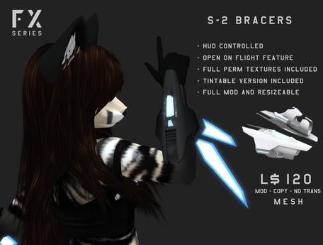 [ZEON] FX - S-2 Bracers
