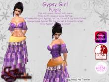 *Silken Surrender* Gypsy Girl, Purple