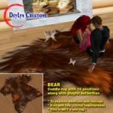 Bear Cuddle Rug (with MLP V1 posing system)