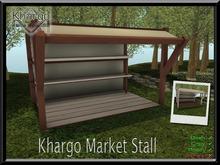 KHARGO MARKET STALL - 2 VERSIONS