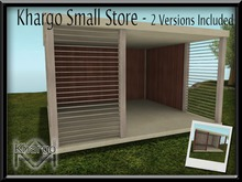 KHARGO SMALL STORE - 2 VERSIONS