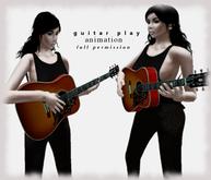 *****guitar play animation***** FULL PERM