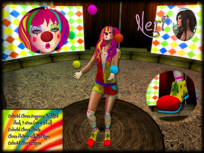 εїз ☆ Neri ☆ Clown Girl Costume ☆ εїз