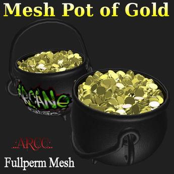 Mesh Pot of Gold