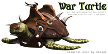[SWaGGa] Wearable Animated War Turtle