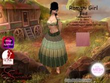 *Silken Surrender* Romani Girl, Red TMP
