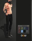 """OUTLET """"DEW"""" Francis pants /m (multi texture)"""
