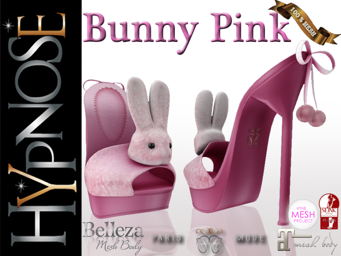 HYPNOSE - SHOES BUNNY PINK