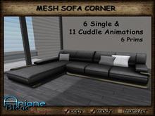 Sofa MESH Corner - Living Room - Low Prims