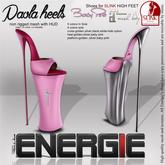 ..::Energie::.. Paola  Heels  Baby Pink  Bag