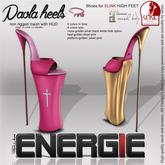 ..::Energie::.. Paola  Heels  Pink Bag