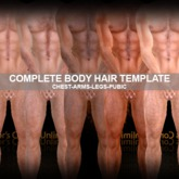 CCU**NEW**-COMPLETE-BODY HAIR Kit Creator/Upper & Lower Layers