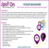 Spot On Stage Manager
