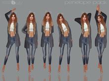 .[ pose+ivity ]. Penelope Pack