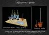 W. Winx-Festivus Wine Tray (Light Wood) & Poles