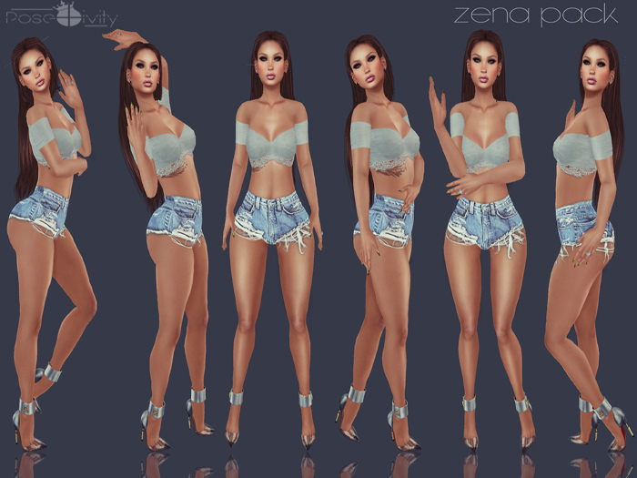 .[ pose+ivity ]. Zena Pack