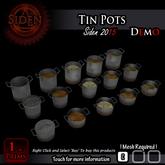 (Demo) Tin Pots (BOX)