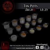 Tin Pots (BOX)