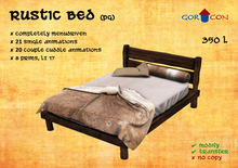 Rustic Bed (PG)