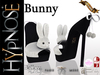 HYPNOSE - SHOES BUNNY BLACK