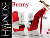 HYPNOSE - SHOES BUNNY RED