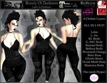 -BOD- Lady In Darkness Bodysuit
