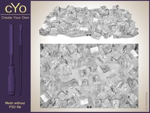 cYo Ice Cubes Filling - Rectangle, full perms mesh, materials and textures