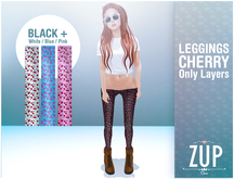 OUTLET ::Zup:: Leggings - Cherry