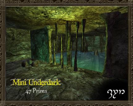 Zyn ~ Mini Underdark Skybox/Build