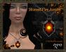 Zyn ~ Horned Fire Amulet