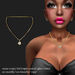 Necklace Every-Day Pty-Dia Gold        -RYCA-
