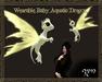Zyn ~ Baby Aquatic Dragon Pet ~ Green