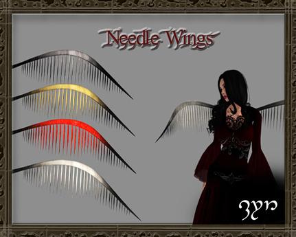 Zyn ~ Needle Wings