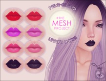(TILLY) - Multi-Colored Lipstick Basics Appliers [TMP]