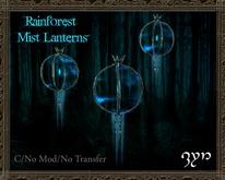 Zyn ~ Floating Rainforest Mist Lanterns ~