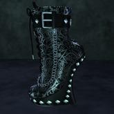 Suicide Gurls - Gulah Boots - Skull