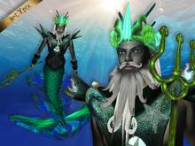 Merman Mermen Mermaid Poseidon
