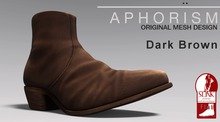 !APHORISM! ROUGH RIDER BOOTS CHARCOAL BOXED