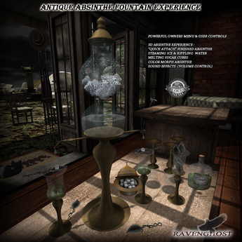Antique Absinthe Fountain Experience  *YES IT WORKS!*