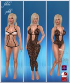 .:f etiche petite:. Lace body Pack/black(appliers incl.)