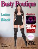 Busty Boutique Laina black