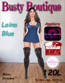 Busty Boutique Laina blue