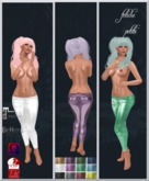 .::f  tiche petite::. Shiny metal Pants FATPACK (Appliers)