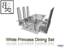 [BR] White Princess Dining Set * Animated