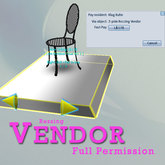 4-prim Rezzing Vendor plus scripts - FULL PERMISSION