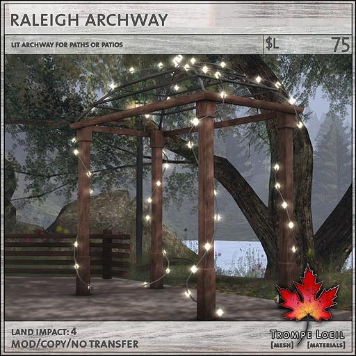 Trompe Loeil - Raleigh Archway [mesh]