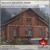 Trompe Loeil - Raleigh Wedding Barn V1.1 [mesh]